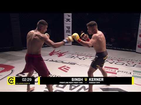 SINGH VS KERNER  - 145lbs Amateur MMA Contest #CWSE24