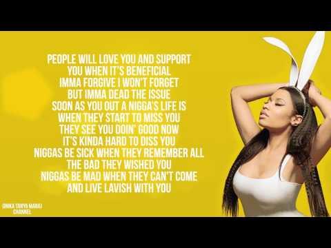 Nicki Minaj - Pills N Potions (Lyrics On Screen) 2014 from YouTube · Duration:  4 minutes 29 seconds