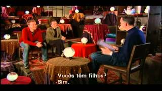 06 - Entrevista com David Thewlis (Remo Lupin) e Gary Oldman (Sirius Black) Legendado em Português