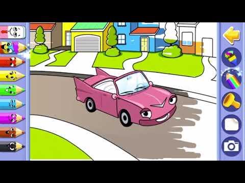 Araba Boyama Oyunu Eğlenceli Boyama öğreniyoruz Youtube