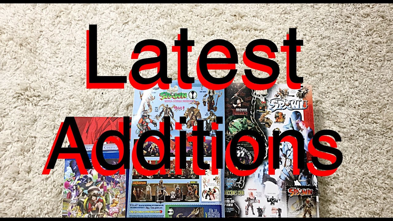 Download Latest Additions #203 Action Figure Review Preview + Blu Ray & DvD Haul