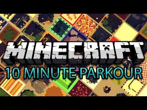 Minecraft: 10 Minute Parkour vs. Mini Ladd thumbnail