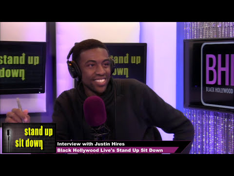 Justin Hires Talks Rush Hour and More | BHL's Stand-Up, Sit-Down