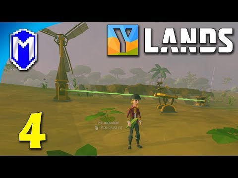 Ylands - Playing With Power, Figuring Out How Electricity Works - Let's Play Ylands Gameplay Ep 4