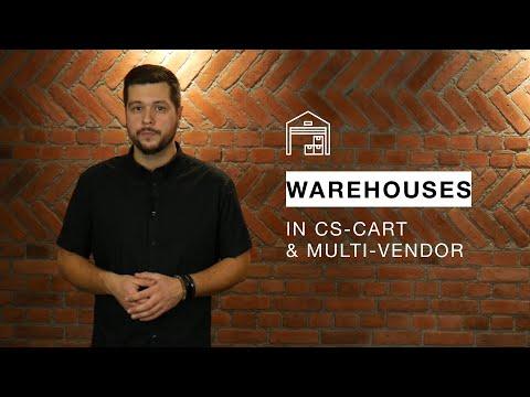 Warehouses in CS-Cart and Multi-Vendor
