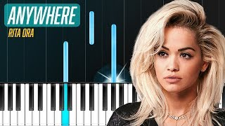 """Rita Ora - """"Anywhere"""" Piano Tutorial - Chords - How To Play - Cover"""