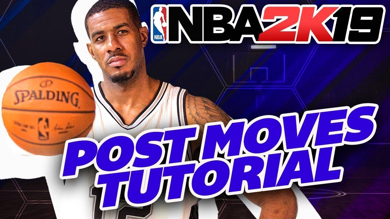 NBA 2K19 Post Moves Tips & Tutorial   Master the Post!