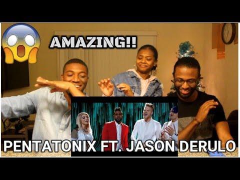 If I Ever Fall in Love - Pentatonix ft Jason Derulo (REACTION)