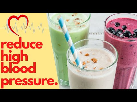 Add These Smoothies in Your Diet To Reduce High Blood Pressure | Healthy Living Tips