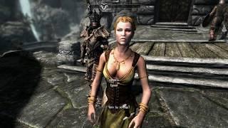 Как жениться на любом персонаже и как переодеть жену в Skyrim