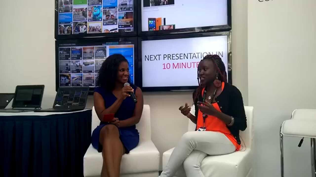 Betty Mutimba of Valuraha Speaks on Financial Literacy at GITEX 2014