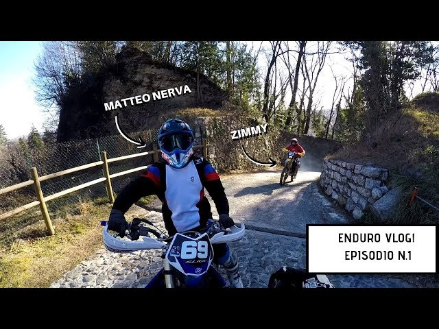 Rompere la moto in montagna - ENDUROVLOG EP.1