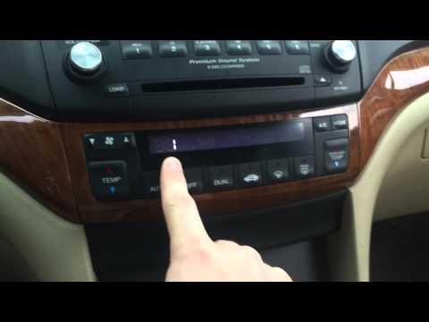 Acura TSX Secret Menu