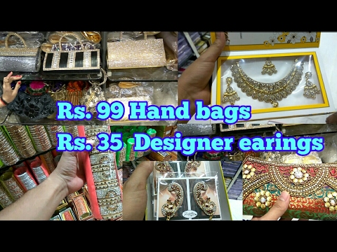 women accessories at very cheap price || Sadar bazar || wholesale market