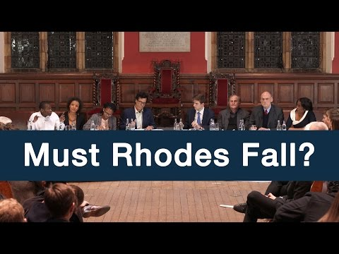 Must Rhodes Fall? | Full Debate | Oxford Union
