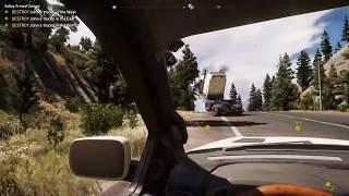 Far Cry 5 Funny/Weird Dancing Truck Glitch Blooper
