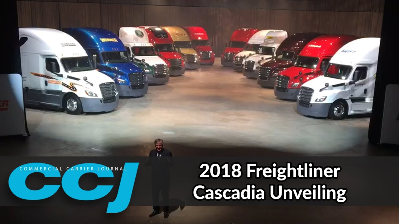 Freightliner unveils revamped, redesigned 2018 Cascadia