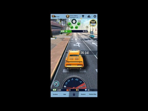 Nitro Racing GO (by T-Bull) - racing game for android and iOS - gameplay.