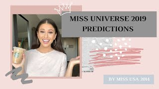 Miss Universe 2019 Prediction | Post Arrival | By Miss Usa 2014 | Nia Sanchez