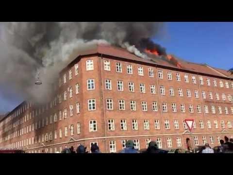Brand på Nørrebro - Mågevej/Ørnevej