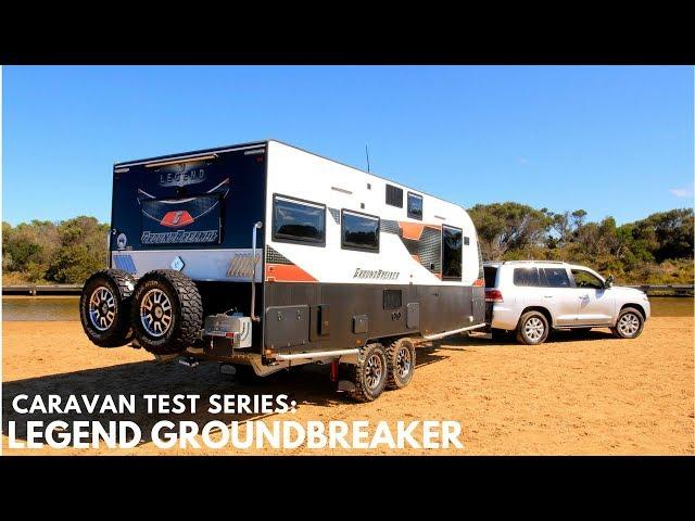 Legend Groundbreaker Ultimate Offroad Caravan