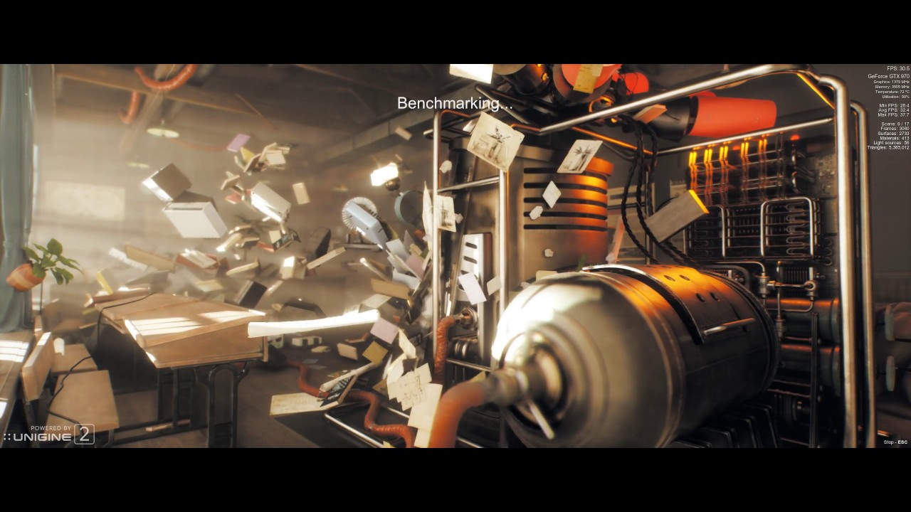 Why do you hate our Graphics cards? Unigine Superposition Benchmark