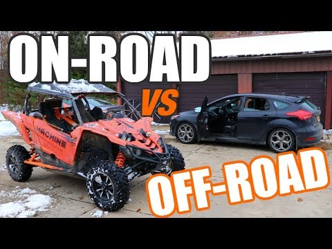 Ford Focus ST vs Yamaha YXZ 1000 (SORRY HATERS )