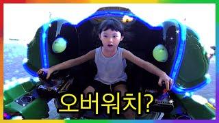 오버워치 디바? 전투 로봇 배틀 전쟁 게임을 하다!  뽀로로 어린이 실내 키즈카페 놀이터 자동차 장난감 놀이 LimeTube & Toy 라임튜브