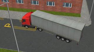 Парковка полуприцепа 3D (Semi Driver: Trailer Parking 3D) // Геймплей