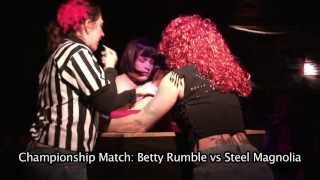 League of Upper Extremity Wrestling Women of Durham VIII: Industrial Strength, 4/20/2013
