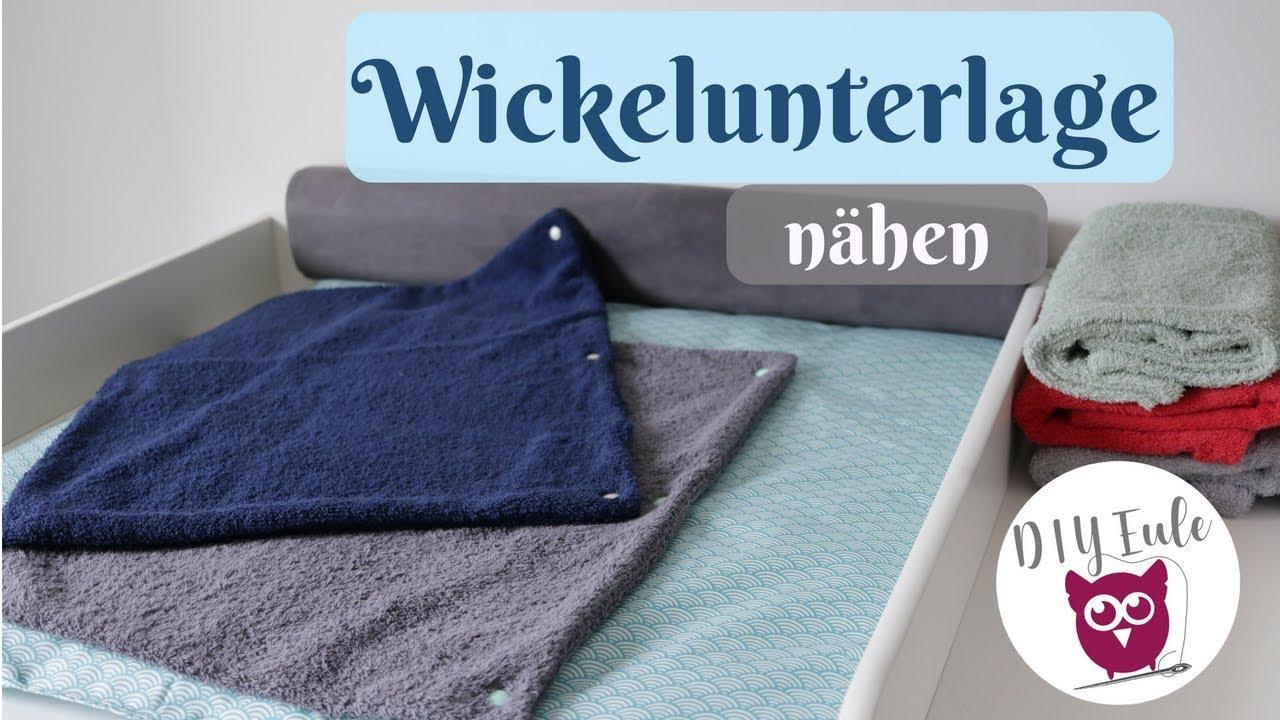 wickelunterlage / wickelauflage für den wickeltisch nähen mit diy
