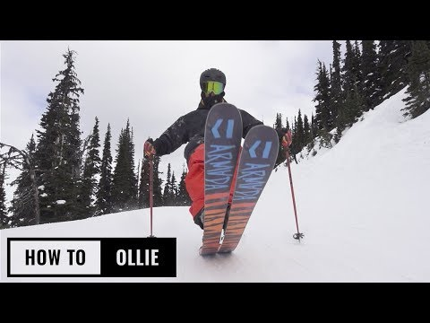 How To Ollie On Skis