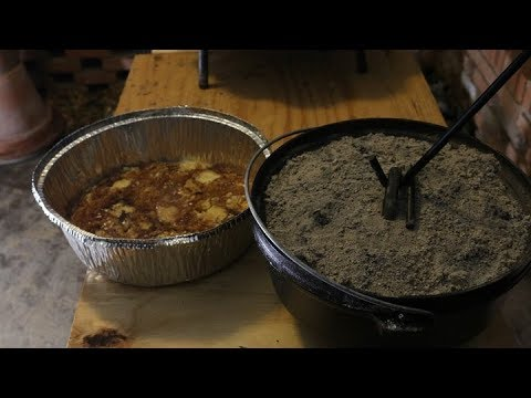 how to make apple cobbler in a dutch oven