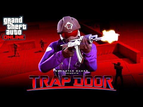 GTA 5 *NEW* TRAP DOOR GAME MODE!! (GTA 5 Online)
