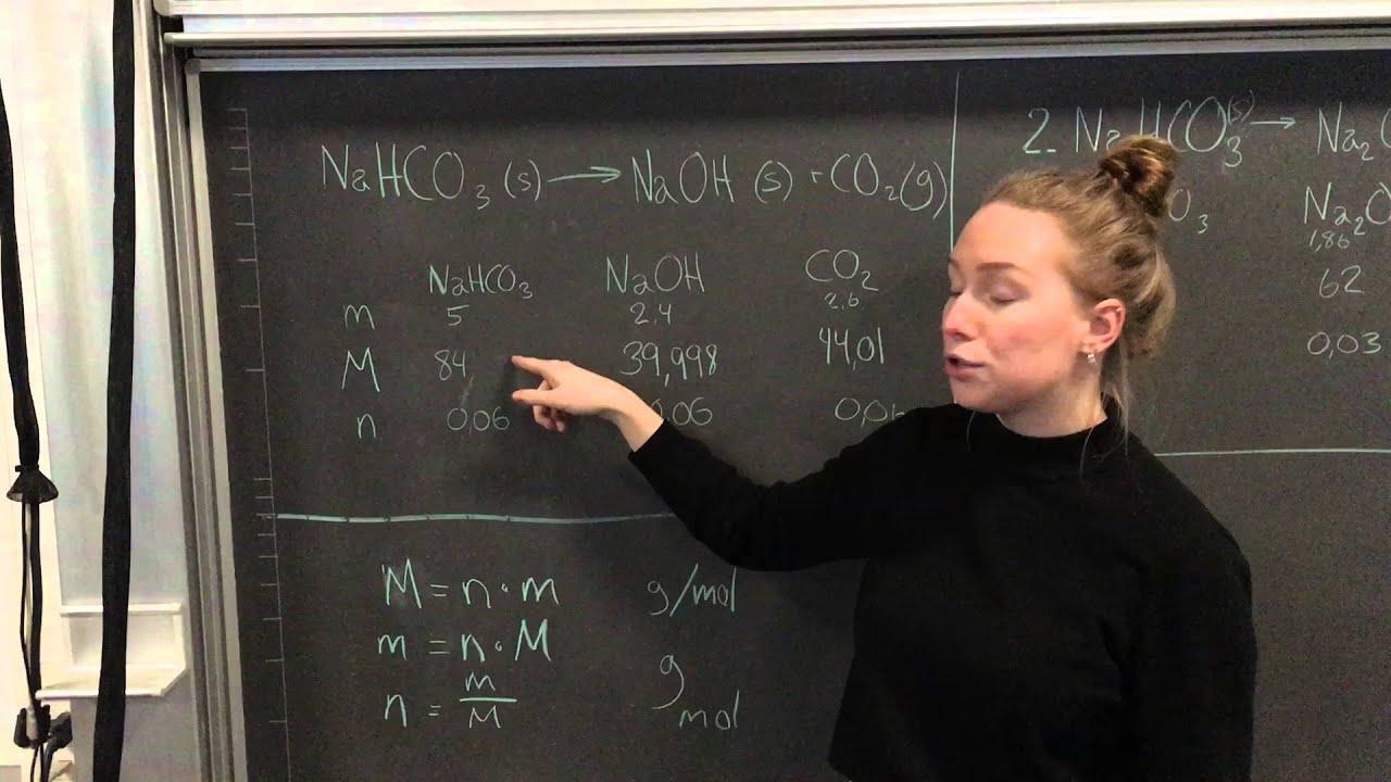 Kemi forsøg - Natron som hævemiddel
