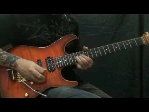 Vinnie Moore - April Sky - Air On G String (J. S. Bach) by Kleber K. Shima