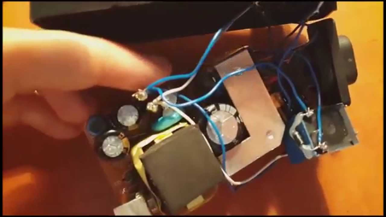 Hack Ac Adapter To Double Clap Switch Youtube Circuit Homemade