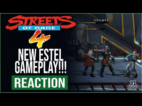 STREETS OF RAGE 4 DLC NEW ESTEL GAMEPLAY |