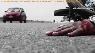DONT USE CELL PHONE WHILE DRIVING ON ROAD