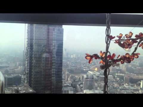 Inside the Duck and Waffle - Heron Tower, London