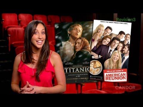 American Reunion & Titanic 3D  BID 59