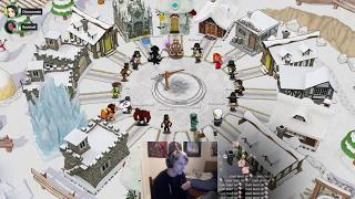 xQc Plays TOWN OF SALEM with Sodapoppin, Moxy, Poke, ComedyRussell, and others!   Part 2