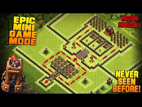 Clash of Clans | TH10 Bomb Tower Base | Inferno Valley | Epic Mini Game Mode + Funny Fails [2016]