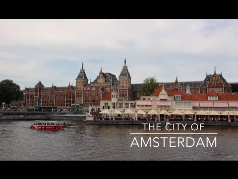 The city of Amsterdam in only 9 minutes