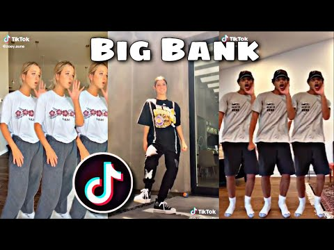 🔵Big Bank Tiktok Dance Compilation | August 2020