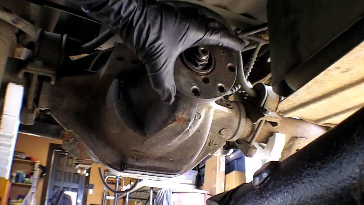 1998 Ford Ranger Rear Differential Reassembly