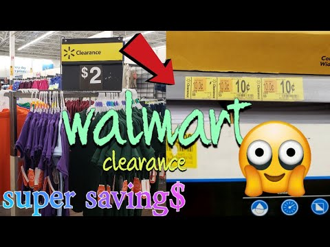 WALMART CLEARANCE SHOPPING $5 Sheet Sets,$2 SCHOOL SHIRTS, A Lot Of 10 CENT ITEMS