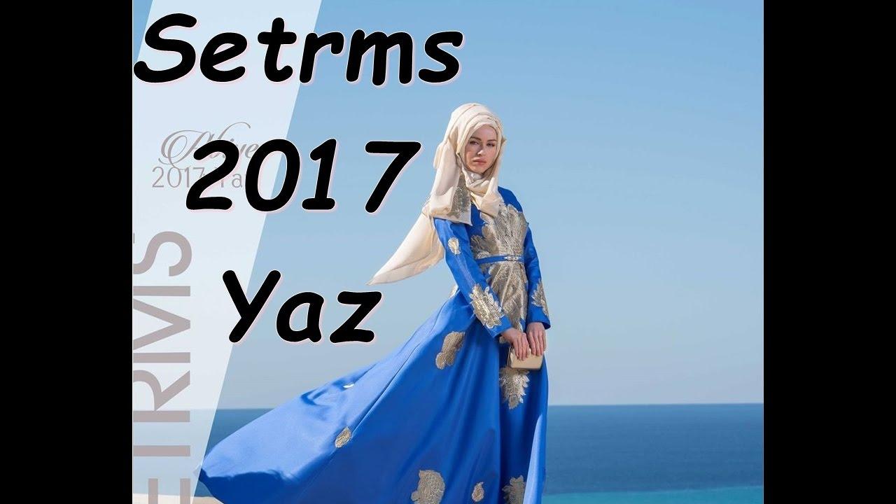 3d76d0625eca5 Setrms 2017 İlkbahar Yaz Abiye Elbise Tunik Kap Ferace Modelleri ...