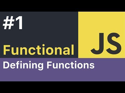 Functional JavaScript Tutorial - #1: Functions thumbnail
