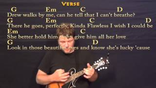 Teardrops on My Guitar (Taylor Swift) Mandolin Cover Lesson with Lyrics / Chords